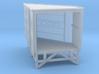 N Angular Dockshelter Left incl. Wall 3d printed