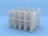 1/87th LIft Gate Builders Pack 3d printed