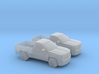 1/160 2X 2015 Chevrolet Silverado Single Cab 3d printed