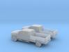 1/160 2X 2015 Chevrolet Silverado Long Bed 3d printed