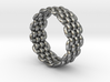 Wicker Pattern Ring Size 10 3d printed