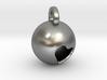 Minimalist Pluto Pendant 3d printed