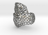 Filigree Skull Ring - Size 6 3d printed