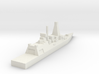 Royal Navy Type 45 Destroyer (Detailed) 3d printed