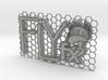 FLYfx Logo On Honeycomb 3d printed