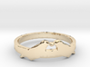 Love Birds Ring Size 7.5 3d printed