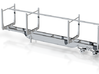 """164th Straight top Pitts style 40"""" Logging trailer 3d printed"""