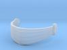 Snake Eyes' visor for Minimate 3d printed