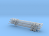 N 40' Container Chassis Stack #2 3d printed