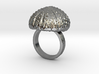 Urchin Statement Ring - US-Size 7 1/2 (17.75 mm) 3d printed