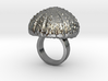 Urchin Statement Ring - US-Size 3 (14.05 mm) 3d printed