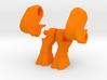 Goat Legs for Minimates 3d printed
