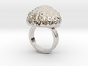 Urchin Statement Ring - US-Size 9 (18.89 mm) 3d printed