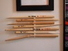 The Stick Clip v1.0- Broken Drum Sticks Become Art 3d printed How many sticks are you going to chain together?