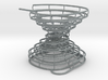 Hour-Glass Spiral Marble-Run  3d printed