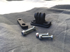 Paintball Dye i4 Mask mount for GoPro Action Camer 3d printed