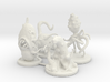 Microvores: Microorganism Miniatures  3d printed