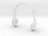 Headphones Heart Version: BJD Doll SD 1/3 size 3d printed