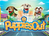 Puppies Out Beagle 3d printed Puppies Out - Game Poster