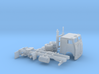 1/160  Mid 1960' White Frightliner Cabover 3d printed
