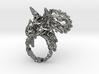 Tricera Ring (Size 5) 3d printed