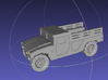 1/144 Humvee Cargo (Single Pack) 3d printed