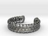 Skeletonized Voronoi Bracelet 3d printed