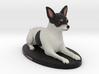 Custom Dog Figurine - TOTO 3d printed