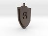 Medieval G Shield Pendant 3d printed