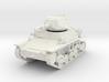 PV81A Italian L6/40 Light Tank (28mm) 3d printed