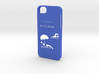 Iphone 5/5s exotic case 3d printed
