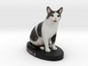 Custom Cat Figurine - Arla 3d printed