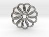 Abp01 Flower Pendant 3d printed