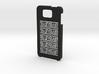 Samsung Galaxy Alpha Greek meander case 3d printed