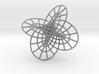 Hopf fibration pendant 3d printed