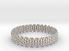 Wicker Pattern Bracelet Size 2 3d printed