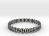 Wicker Pattern Bracelet Size 10 or USA Large Size 3d printed