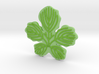 Paper Mulberry Leaf 3d printed