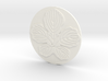 Paper Mulberry Leaf Coaster 3d printed