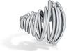 Tornado Dorito Rings Large Pinched 3d printed