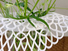 Collar Vase Dutch Lace for jar size:82 (6 leads) 3d printed Collar Vase detail
