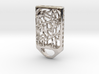 Cat Lantern 2: Tritium (Silver/Brass/Plastic) 3d printed