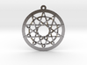 Woven Pentacles Large 3d printed