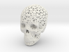 Skull Wireframe 90mm 3d printed