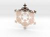 Fractal Snowflake 1 - LP 3d printed