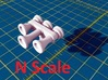 Locomotive 3 Chime Horns Type 3-1 & 3-2 N Scale 3d printed Type 3-1