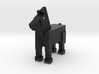 Horse 003 3d printed