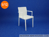 Willisau Vero Armchair with Armrests 3d printed