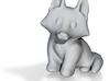 Fox Cub Miniature (Blank) 3d printed