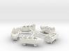 Hamptom Boats with Sweeps 3d printed
